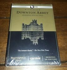 LIMITED EDITION Downtwon Abbey - Seasons 1 & 2  (DVD, 2012, 6-Disc Set) New