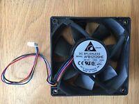 Delta AFB1212SHE 12V 1.60A 4 pin 4 wire 120mm Case Fan.