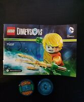 Lego Dimensions 71237 DC COMICS Fun Pack AQUAMAN just discs and manual