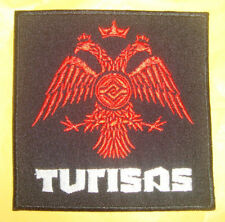 TURISAS LOGO Embroidered PATCH TYR Ensiferum Finntroll Alestorm Wintersun