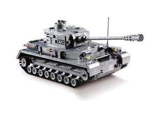 Panzer IV Technical Brick Model - 1193 pieces