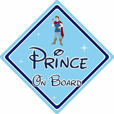 Disney Prince On Board Car Sign – Baby On Board – Snow White Prince Ferdinand