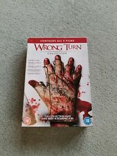 Wrong Turn COMPLETE COLLECTION 1,2,3,4,5,UK R2 DVD BOXSET RARE HORROR FREE POST