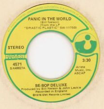 "Be Bop Deluxe(7"" Vinyl)Panic In The World/ Blue As A Jewel-Harvest-4571-VG/Ex-"
