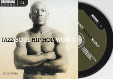 CD CARTONNE 10T JAZZ SOUL BITTOVA/COURSIL/MELINGO/WOOD