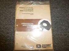 John Deere 6105 & 6125 Diesel Engine Owner Operator Maintenance Manual Omrg25752