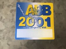 Allman Brothers Band - 2001 - Photo Pass - Blue Yellow