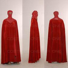 Star Wars Costume Men Full Set Red Vintage Royal Guard CosplayTailored