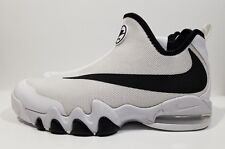 low priced 6860e 23cbf Nike Big Swoosh Mens Basketball Shoes The Glove White Size 11