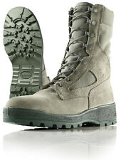GI Wellco Air Force Temperate Weather Goretex Combat boot  Sage Green Size 6Wide