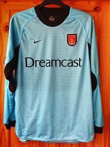 Arsenal 2000-2002 Nike Dreamcast Vintage Football Shirt Long Sleeves Goalkeeper