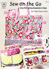 Sew On The Go - sewing accessory patterns in a 16 page book - 5 projects