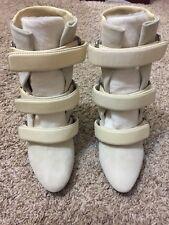 Isabel Marant Cream Boots Sz 36