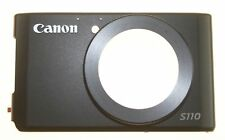 Canon PowerShot S110 Camera Front Cover Assembly Replacement Repair Part - Black