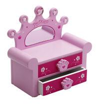 Girls Pink Ballet Dance Jewellery Box Chest By Katz Christmas PWSB-03 SECONDS