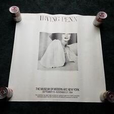 1984 IRVING PENN Fashion Poster Metropolitan Museum of Art Photograph Exhibit