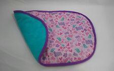Fur Real Friends Pink Purple Aqua Bird Security Blanket Lovey Replacement Fleece