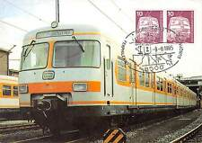 BERLIN MK 1985 495 EISENBAHN ET 420 MAXIMUMKARTE NÜRNBERG MAXIMUM CARD MC d9533