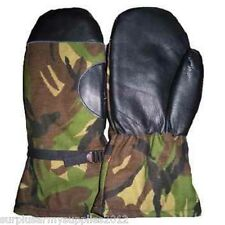 DUTCH ARMY COLD WEATHER MITTENS FLEECE LINED GLOVES HOLLAND CAMPING HIKING