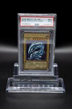 2002 Yu-Gi-Oh! Starter Deck Kaiba SDK-001 Blue-Eyes White Dragon PSA 9 Mint!