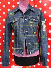PHARD size L jacket  jean 100% cotton women ITALY