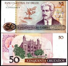 BRAZIL 50 Cruzados 1986 P 210 UNC