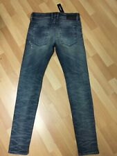 NWD Mens Diesel Sleenker Stretch Denim 0853L BLUE Slim W30 L32 H5 RRP£150