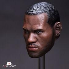 1/6 Custom Action Figure STAR  Head Sculpt LeBron James Collection Model Toy