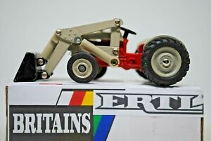 1:43 Britains ERTL 1178G Famous FORD N Series 2wd Farm Tractor w FRONT LOADER