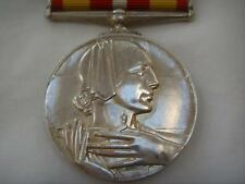 RED CROSS LONG AND EFFICIENT SERVICE MEDAL WITH RIBBON NAMED