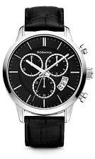 RODANIA Oxford 2610826 Analog Fashion Leather Strap Quartz Date Watch