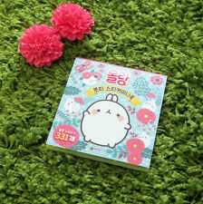 Molang Petit Sticker Book Diary Planner Book Scrapbook Cute Rabbit Anime Decor