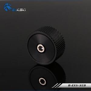 Bykski G-1/4 B-EXV-X Water Cooling Manual Automatic Exhaust Valve Black