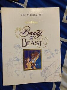 The Making of Walt Disney's Beauty and the Beast Book - VGC