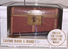 Harry Potter Saving Bank And Wand Warner Bros (New In Box) *Free Shipping*