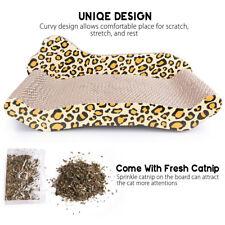 Pet Cat Scratcher Bed Lounge Post Furniture Sleep Scratching Cardboard Catnip