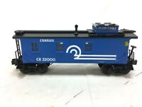 MTH RAILKING RK-7708L O-SCALE CONRAIL SEMI SCALE CABOOSE EXCELLENT CONDITION