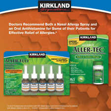 Kirkland Signature Aller-Flo 5 Bottles 120 Sprays Each All 600 Sprays Non-Drowsy