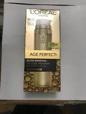 L'Oreal Age Perfect Glow Renewal Day Lotion Moisturizer 1.7 Fl Oz Spf 30