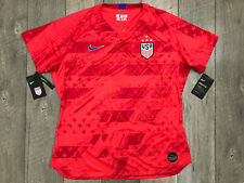 Nike USA National Team USWNT 4 Star Soccer Jersey Womens Size Small Red NWT $90