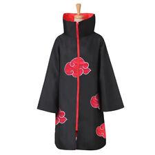 Naruto Akatsuki Anime Cosplay Coat Cloak Costumes For Kids Applied Fresh