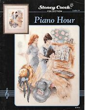 Piano Hour Cross Stitch Leaflet - Stoney Creek #59 - Victorian, Music