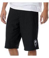 Metal Mulisha Men's Logistics Striped Chino Shorts Walkshort Size 28