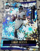 LAMAR JACKSON 2019 U #1 Draft Pick REFRACTOR SP 64/75 Baltimore Ravens $$ HOT $$