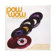 Pow Wow Jazzman CD compilation Soul Jazz Latin Funk Sevens 45s