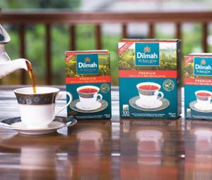Dilmah Premium Pure Ceylon Black Tea in Tea Bags 4 affordable Packs