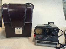 Polaroid  Land camera Polasonic autofocus 4000 Vintage + etui cuir Sacar