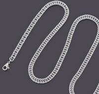 """4.8mm Stainless Steel Curb Chain - Mens & Womens Unisex Necklace - 18"""" 22"""" 26"""""""