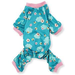Cute Pet Clothes Dog Pajamas Jumpsuit COTTON Blend Small Medium Pet XXS XS S M L
