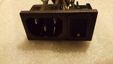 """Hannspree TV LCD 32"""" (JT01_32E2_000G) 3 pin connettore di alimentazione e interruttore"""